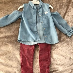 7 for all mankind baby outfit